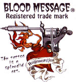 BLOOD MESSAGE